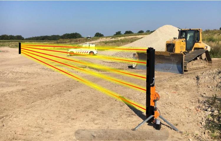 Baustellenüberwachung Sicherheitstechnik für Baustellen