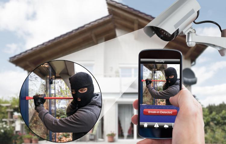 Videoüberwachung Einfamilienhaus