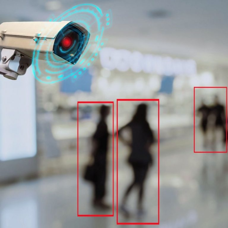 Motion Detection Videoüberwachung Kamera
