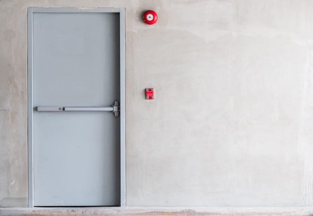 Panikraum Tür