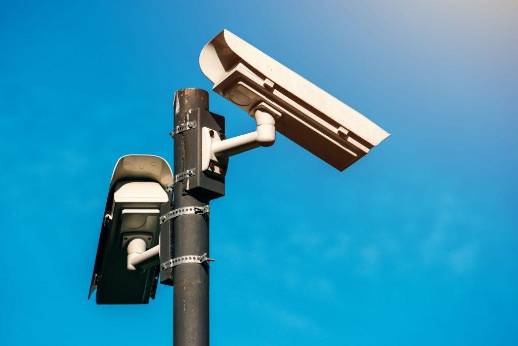 Videoüberwachung Panikraum