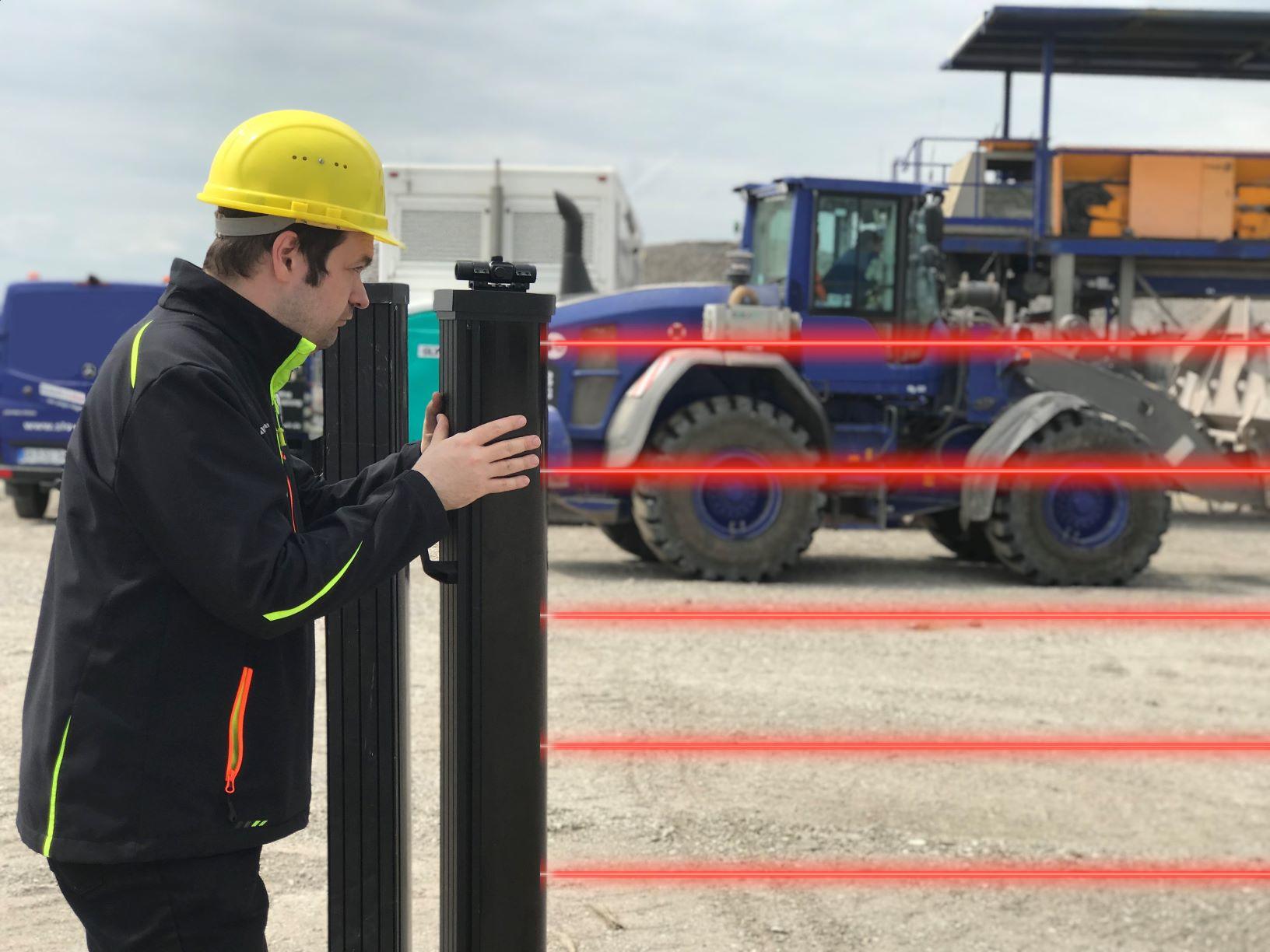 Baustellenüberwachung Freigelände